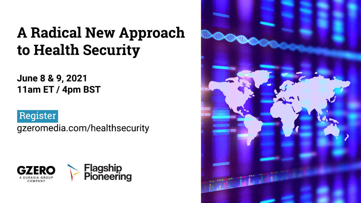 Event: A Radical New Approach to Health Security
